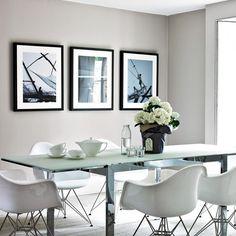 Esszimmer Wohnideen Möbel Dekoration Decoration Living Idea Interiors home dining room - Cool Gray Esszimmer