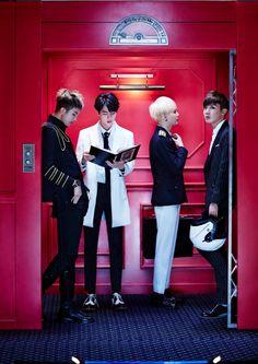 [HQ] Bangtan Rap Monster, Suga, J-Hope & Jin for Sick 1450x2048