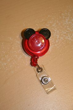 Mickey Mouse out of med vial caps