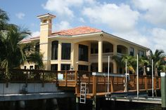 See the Picayne Point Waterfront Home that has 6 bedrooms, 6 full baths and 1 half bath from House Plans and More. See amenities for Plan House Plans And More, Luxury House Plans, Florida Style, Florida Home, Italian Style Home, Florida House Plans, Perfect Live, Tuscan Style Homes, Mediterranean House Plans