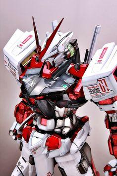 PG Astray Red Frame - Painted Build Modeled by l Gundam Toys, Gundam Art, Science Fiction, Astray Red Frame, Gundam Astray, Gundam Wallpapers, Gundam Mobile Suit, Samurai, Gundam Custom Build