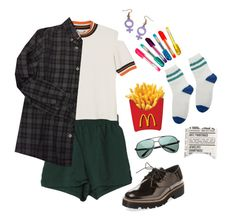 """""""French Fries"""" by briaud on Polyvore featuring Renvy, ZeroUV, Monki, Bonpoint, Dylan's Candy Bar and vintage"""