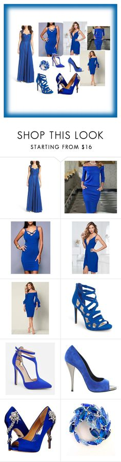 """fashion"" by amel-367 ❤ liked on Polyvore featuring La Femme, Venus, Jessica Simpson, JustFab, Pierre Hardy and Badgley Mischka"