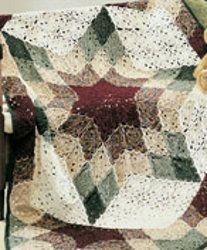 Prairie Star Crochet Afghan