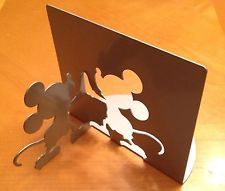 Disney's Mickey Mouse Shadow Silhouette Book Ends
