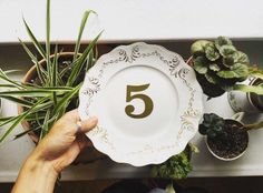 plate table numbers
