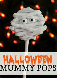 31+halloween+treats+mummy-Pops.jpg 600×823 pixels