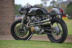 Honda CB350 Limited Edition Cafe Racer - via Return of the Cafe Racers