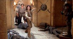 Hello. My name is Inigo Montoya. You killed my father. Prepare to die. (The Princess Bride, 1987)