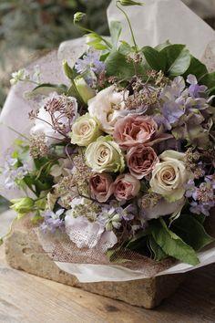 Beautiful Bouquet Of Flowers, Beautiful Flower Arrangements, Purple Flowers, Floral Arrangements, Beautiful Flowers, Lilac Wedding, Wedding Bouquets, Wedding Flowers, Birthday Wishes Flowers