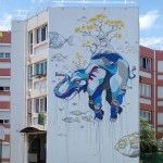 Residential Murals Mix Signature Street Art Styles With Elements of Island Life