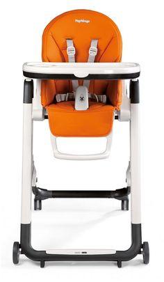 Siesta Arancia - Chaise haute pour bébé orange - Peg Perego