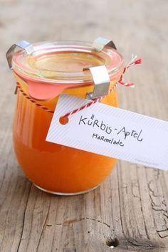Winter aufs Brot: Kürbis-Apfel-Marmelade - Cucina Piccina