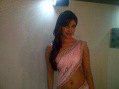 Priyanka Chopra on the sets of Jhalak Dikhla Ja.