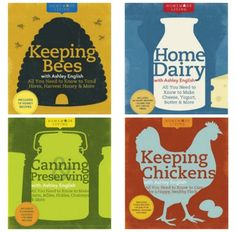 homemade living books - sustainable living