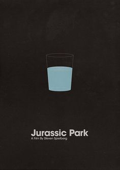 Jurassic Park. Minimalistic Movie Poster.