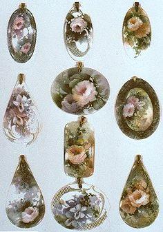 Celee Evans Porcelain Study: Pendants #1