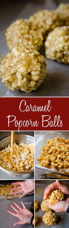 We love caramel popcorn at our house, this recipe is easy to make, has a great buttery flavor and tastes divine. Let it cool and form into balls if you want to easily give some away as a gift, full video tutorial to help (easy birthday treats) Popcorn Recipes, Candy Recipes, Holiday Recipes, Snack Recipes, Dessert Recipes, Cooking Recipes, Cooking Ideas, Carmel Popcorn Balls Recipe, Flavored Popcorn