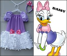 Boutique Daisy Duck Inspired Costume by TulipsLoveTurtles on Etsy