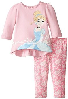 Disney Baby Girls' Long Sleeve Cinderella Pullover and Pant Set, Pink, 18 Months Disney http://www.amazon.com/dp/B00VQFZCG0/ref=cm_sw_r_pi_dp_7J9Jwb1NWSKHG