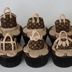 Vuitton cupcakes