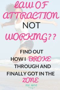 Always wondered why Law of Attraction doesn't seem to work for you? I can help! Discover the main reason why it may not be happening for you.