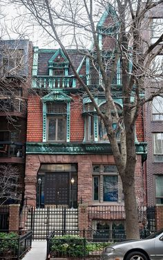 R. Philip Gormully House (1884), 1245 N Dearborn Pkwy, Gold Coast, Chicago, IL, USA by lumierefl, via Flickr