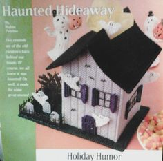 Haunted home plastic canvas 1 of 4