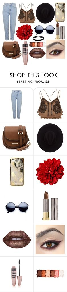 """""""Date"""" by susanna-trad on Polyvore featuring Topshop, River Island, Cooper St, Brixton, Skinnydip, Urban Decay, Lime Crime, Maybelline, NYX and Miss Selfridge"""
