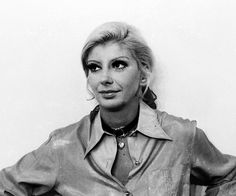 Marilia Pera in the soap opera  O Cafona 1971 TV Globo