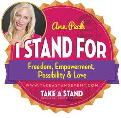 Ann Peck is world class inspirational keynote speaker, host of Straight Talk for a Curvy World™, writer and Women's Empowerment Leader. Ann has shared her story of Courage at a Crossroads around the world. #takeastandevent #domesticviolence #sexualassault #domesticviolenceawareness #domesticviolencesurvivors #rape #NCADV #NRCDV #NNEDV #1billionrising