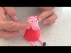 How to make a Peppa Pig Figurine Tutorial! So simple and easy!