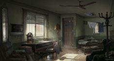 ArtStation - FFXV - Nyx's Room, Jonas De Ro