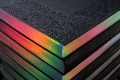"CLICK THE LINK FOR THE FULL PUBLICATION I really appreciate this publication, a contemporary riff on a classic embossed encyclopedia design. The rainbow pearlescent page edges contrast well with the dark black cover. There is a lot of modular layout and interesting illustration inside.  ""SPANISH ADVERTISING ANNUAL 2016"" https://www.behance.net/gallery/43874767/SPANISH-ADVERTISING-ANNUAL-2016"