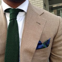 knitted tie combo