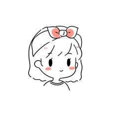Discover recipes, home ideas, style inspiration and other ideas to try. Cute Little Drawings, Cute Easy Drawings, Cute Kawaii Drawings, Kawaii Art, Cartoon Drawings, Cute Art Styles, Cartoon Art Styles, Dibujos Cute, Cute Doodles