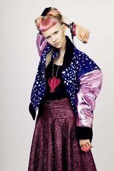#GRIMES wearing signature Maria Francesca Pepe pieces <3