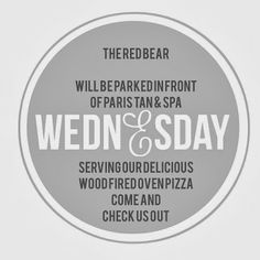 Check us out for lunch #theredbear #paristan&spa