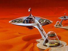 1955 ... living on Mars!
