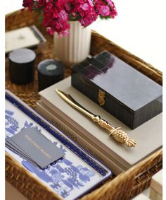 Blue Willow Porcelain Tray
