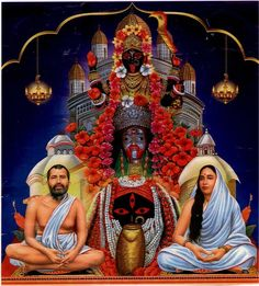 Dakshineswar Kali Temple is located in Kolkata, West Bengal. This temple is dedicated to Lord durga in the aspect of Goddess kali Mother Kali, Divine Mother, Kali Mata, Durga Maa, Kali Hindu, Shiva Shakti, Lord Shiva Family, Kali Goddess, Vedic Astrology