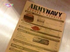 Army Navy Menu Army & Navy, Menu, Relax, Good Things, Drink, Cagayan De Oro, Menu Board Design, Beverage, Drinking