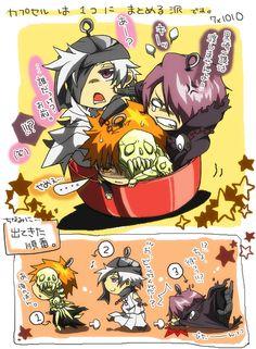 Kokuto, Shuren & Kurosaki Ichigo   Bleach   Anime