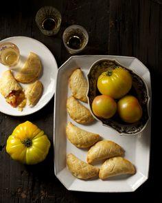 Sweet Green Tomato Hand Pies from the Beekman 1802 Heirloom Desserts Cookbook  http://beekman1802.com/heirloom-desserts-pre-order/