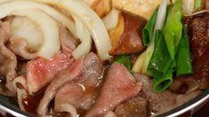 Kansai-style Sukiyaki Recipe 関西風すき焼き 作り方 レシピ