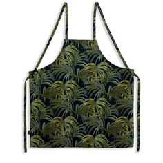 Bring a shot of colour to your culinary activities with this cotton apron featuring our Palmeral print with over the shoulder and back tie fastenings,...