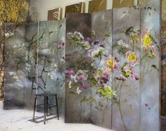 By French large scale flower artist Claire Basler