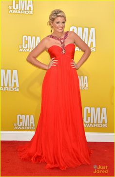 Lauren Alaina at  the 46th Annual CMA Awards in Nashville, Tennessee, November 1, 2012