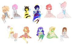 raggedy princess adventure time anime - Google Search