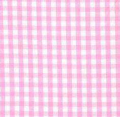 """Fabric Finders, Inc. 1/4"""" Bubblegum Gingham"""
